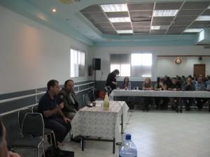 Kaplan and Agmon-Snir at the Acco meeting