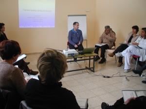 First workshop in Ir Ganim Clalit clinic