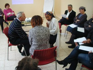 Using a cultural liaison in a simulation