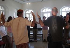 Speaking Arts workshop at the JICC house - June 2011