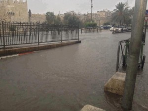 Floods outside the Old City