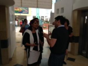 Touring the Western Galilee Hospital in Nahariya