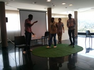 One Strong Black - Sudanese Theatre at the conference