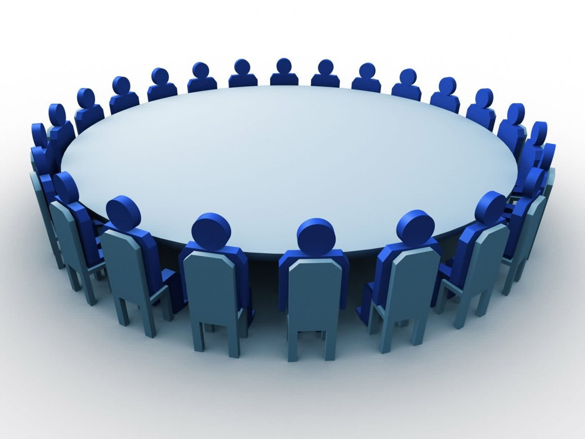 Round table meeting icon - Beit Shemesh Round Table Goes Public The Jerusalem