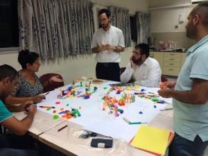 Jerusalem's diversity, building playgrounds