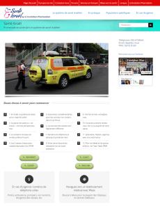 Sante homepage