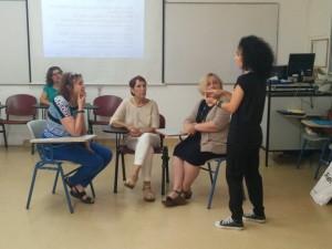 Training at Hadassah College