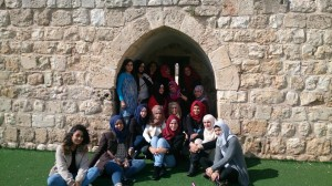Group at Abna al-Quds Community Center