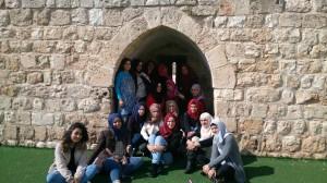 Group at Abna al-Quds Community Center