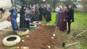 Learning Practical Part of Horticulture Therapy