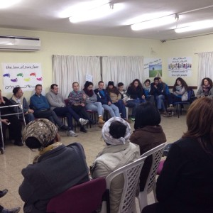 Community Meeting in South Talpiot