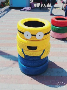 "Well never get ""tired"" of this minion"