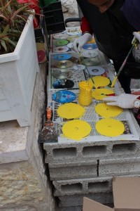 Painting discs