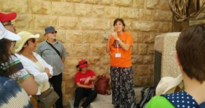 Learning about relations between the religions on Mt. Zion