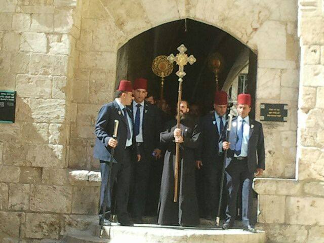 Armenian Pentecost ceremony