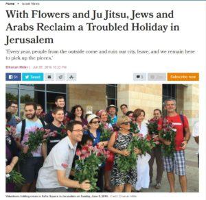 Elhanan Miller Haaretz article