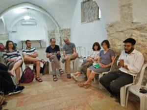 Meeting with Eli Dan, Diaspora Yeshiva