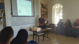 Learning first aid basics