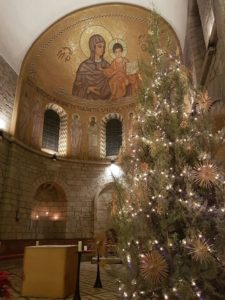 Christmas Eve at the Dormition Abbey