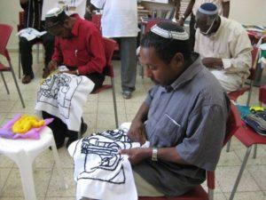 Ethiopian embroidery