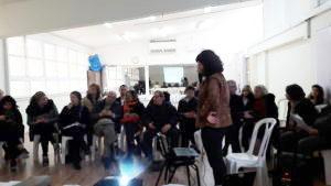 Presenting Sante Israel in Tel Aviv