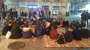 Speaking in the Square, Yerushalmim, 9Adar