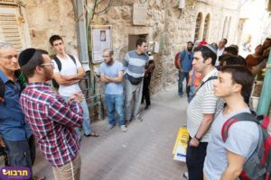 Between Haredi and non-Haredi Jerusalem