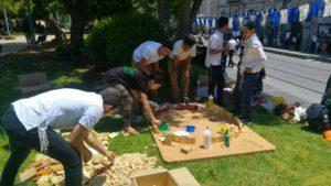 Working together, building Jerusalem