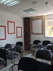 One of the activities rooms, painted and decorated by MiniActive Youth
