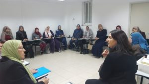 Introducing Living Safer, Living Longer to MiniActive women in East Jerusalem