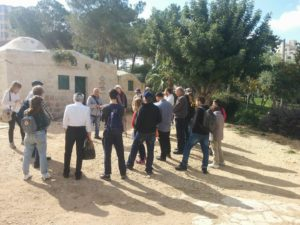 Tour of the hidden Muslim cemetery, with Emek Shaveh