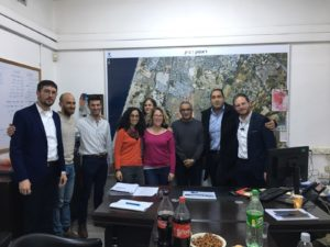 Jerusalem residents and city officials learning from Rishon Lezion